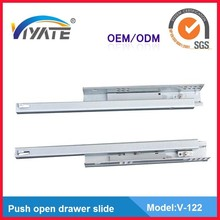 Viyate concealed soft close drawer slide tracks