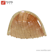 Bamboo Display Basket Food Basket Hand Weaved Natural Fruit Basket