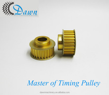 Pitch 5mm GT 26T Gold anodized Timing Pulley