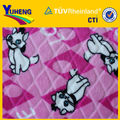 Cartoon Design 100% Polyester Printed and Cut Flannel Fleeece for Cloth