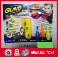 2015 funny soft bullet toy guns for boys plastic with EN71