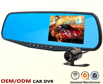 Factory hot sales rear view mirror camera instructions From China supplier