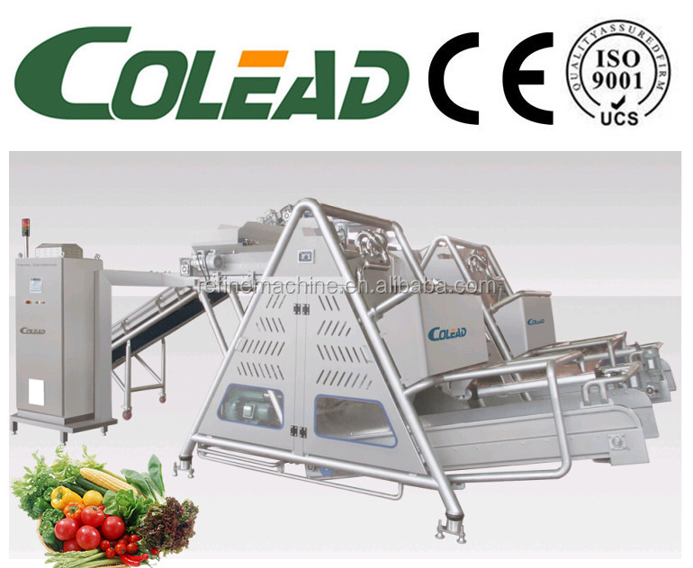 Hot sales Full automatic continuous centrifugal cutted fruit and vegetable dewatering machine from Colead