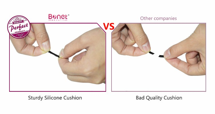 BTZ0281 Stainless steel Soft-Touch Coating High Quality False Eyelash Applicator