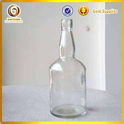750ml glass liquor bottles