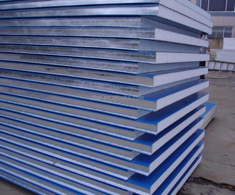 1 4 Eps Wall Panels : Mm panel sandwich wall eps