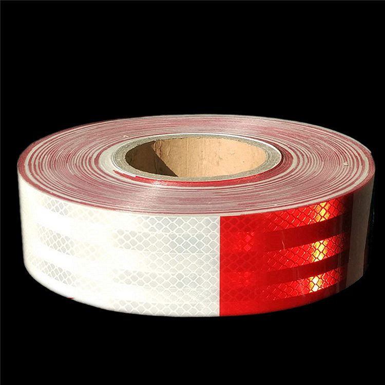 New Design durable Red And White Reflective Tape