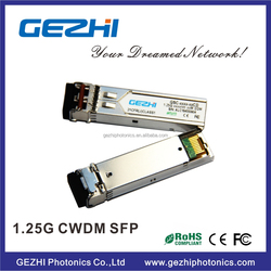 LC Connector Type 40KM CWDM 1550nm SFP Module with DDM