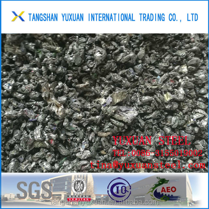 cheap price heavy shredded scrap metal