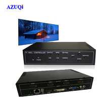 Monitor Stand Support any Splicing Screen 2x2 Video Wall Control Box for Advertising Player