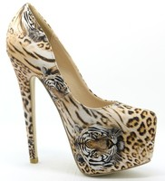 New Sexy Lady High Heel Shoes Wholesale Shoes Leopard Lady Fashion , Shoes YJ15157128