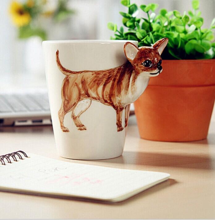 kreatives geschenk keramik kaffee milch tee becher 3d. Black Bedroom Furniture Sets. Home Design Ideas
