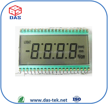 7 segment lcd display STN/TN/FSTN/HTN lcd