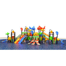 children water park equipments outdoor playground swimming pool tube plastic slide water Kids slide for sale for adult