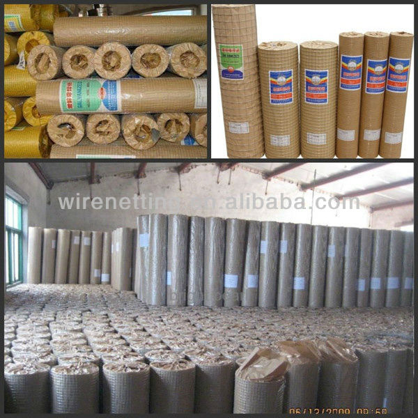 "galvanized iron 1/2"" welded wire mesh (Baodi factory)"