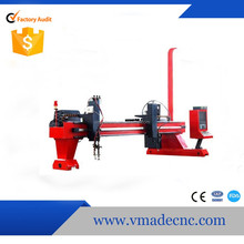 CE Approved Steel Tailor Gantry Cnc Cutting Machine Plasma Metal plate cutting And Steel Cutting Machine