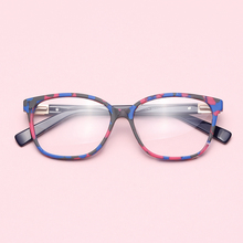 Women Eyeglass transparent computer myopia clear optical Spectacle frame #17074 brand frames eyewear