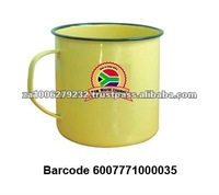 10CM South Africa High Quality Enamel Mug