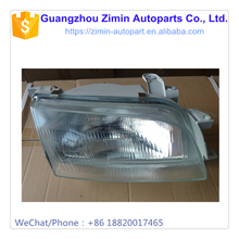 AUTO CAR PARTS, ABS PLASTIC WHITE GLASS CLASSICAL FRONT HEAD LAMP HEADLIGHT FOR AE92