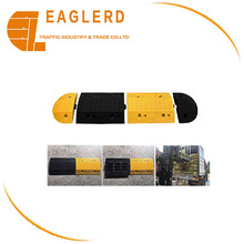 Durable Rubber Road Safety Speed Hump