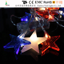 Falling star led lights for trees/Christmas led falling star lights