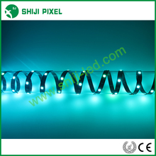 outdoor indoor full color smd 5050 digital rgb led flexible strip 1211 ic DC 12v 30leds/m