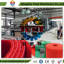 PVC coil mat carpet making extrusion machines