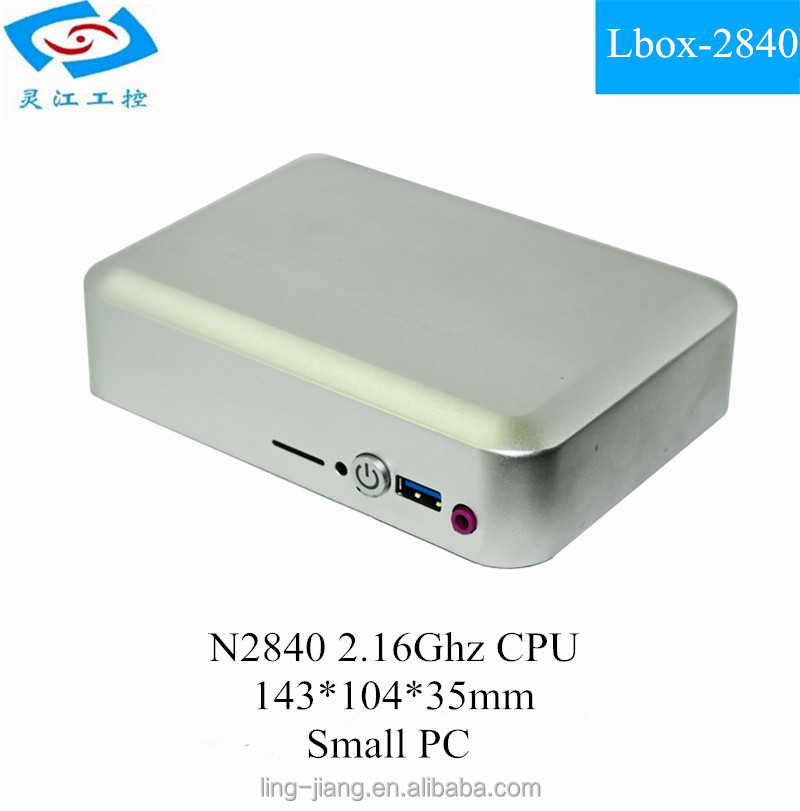 N2840 Small Size Ultra Slim Mini PC software pc