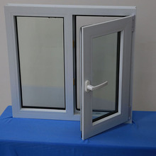 china foshan factory pvc profiles windows and doors usa with safety glass