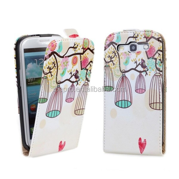 Fashion Magnetic PU Leather Case Cover for Samsung S3 i9300 S3 Neo i9301
