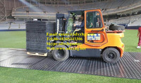 uhmwpe crane foot support/hdpe temporary road mats/ground mats
