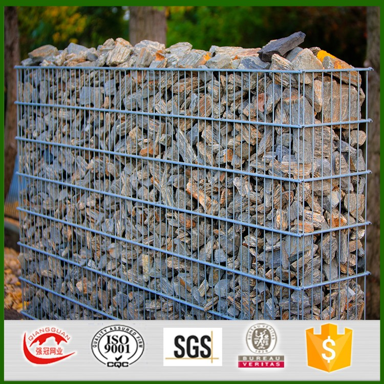 Hot selling best price home depot cost of gabion retaining wall