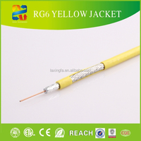High performance coaxial multicore thin rg6 cable