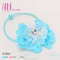 Coloful and cute decorative ribbons imported hair accessory for girls , Other accessories to wear also available