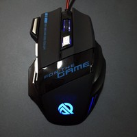 2016 Best Selling Promotional Laser Wired USB Gaming Mouse