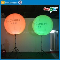 balloon stand pole for sale advertising inflatable tripod stand light balloon