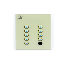 10-key touch panel glass DMX decoder