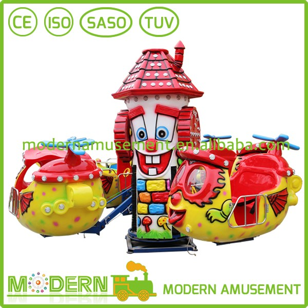 China amusement big eye plane kids attractions children's games