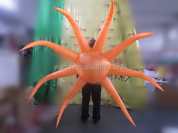 2015 Hot-selling cheap custom orange inflatable back support