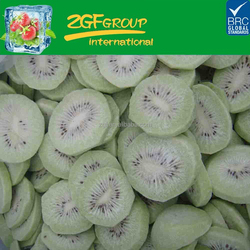 IQF delicious health chinese organic kiwi green color have a good sale in carton