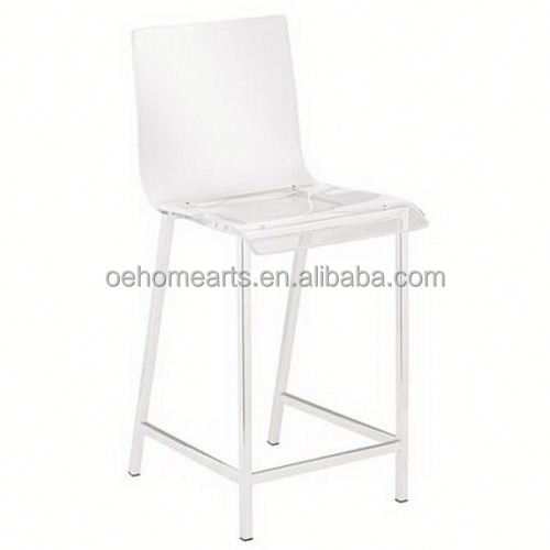 private design China Manufacturer Factory Price acrylic kitchen chairs