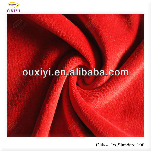 polyester spandex stretch knitted fabric