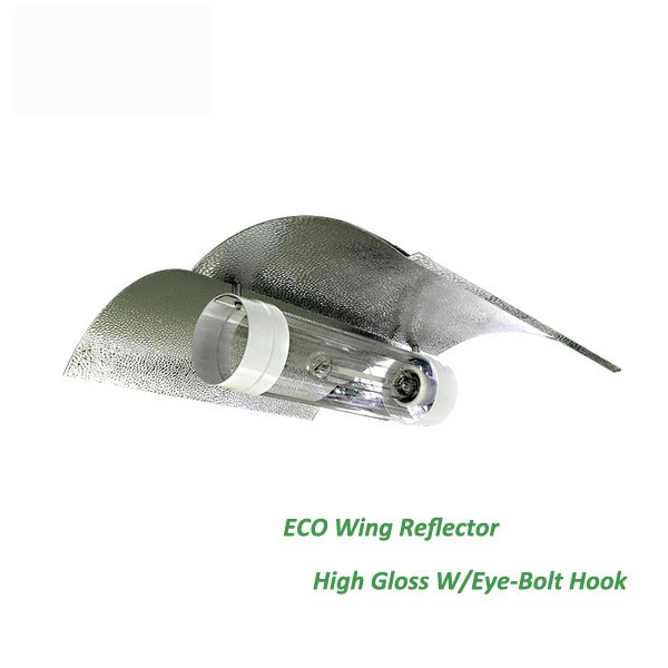 Double Ended Lamp Reflector Hydroponic Adujustable Wing Ceiling Light Reflector