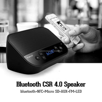 NEW bluetooth speaker with LED light ,bluetooth speakers with handfree funcation