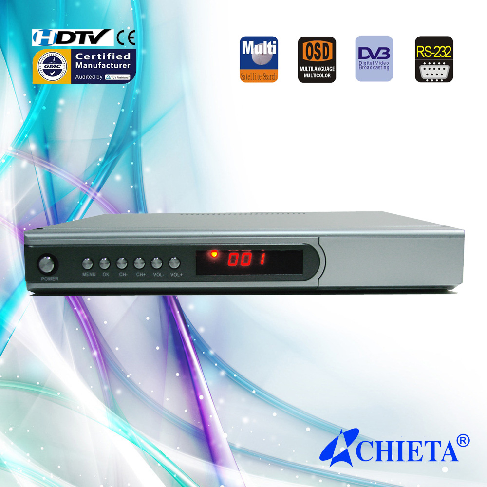 FTA DVB-S Digital TV Satellite Receiver