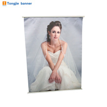 Custom variety wall scroll banner picture advertising
