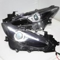 LED Head Lamps OEM style For MAZDA 3 Axela2013-2015 year LF