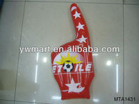 PVC inflatable hand model for promotion