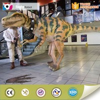 Attractive hot sell walking dinosaur costume