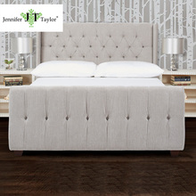Jennifer Taylor modern design wood platform king wood bed